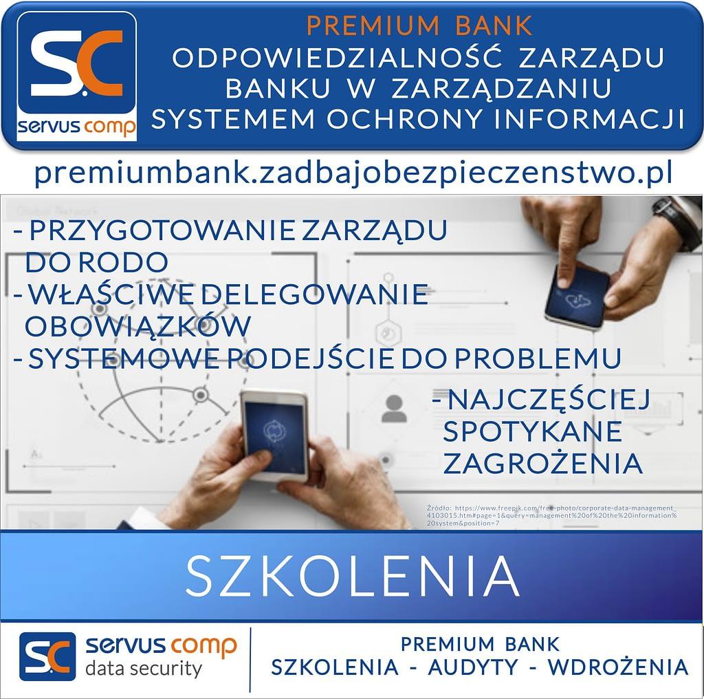 ODPOWIEDZIALNOŚC ZARZĄDU BANKU W ZARZĄDZANIU SYSTEMEM OCHRONY INFORMACJI RODO
