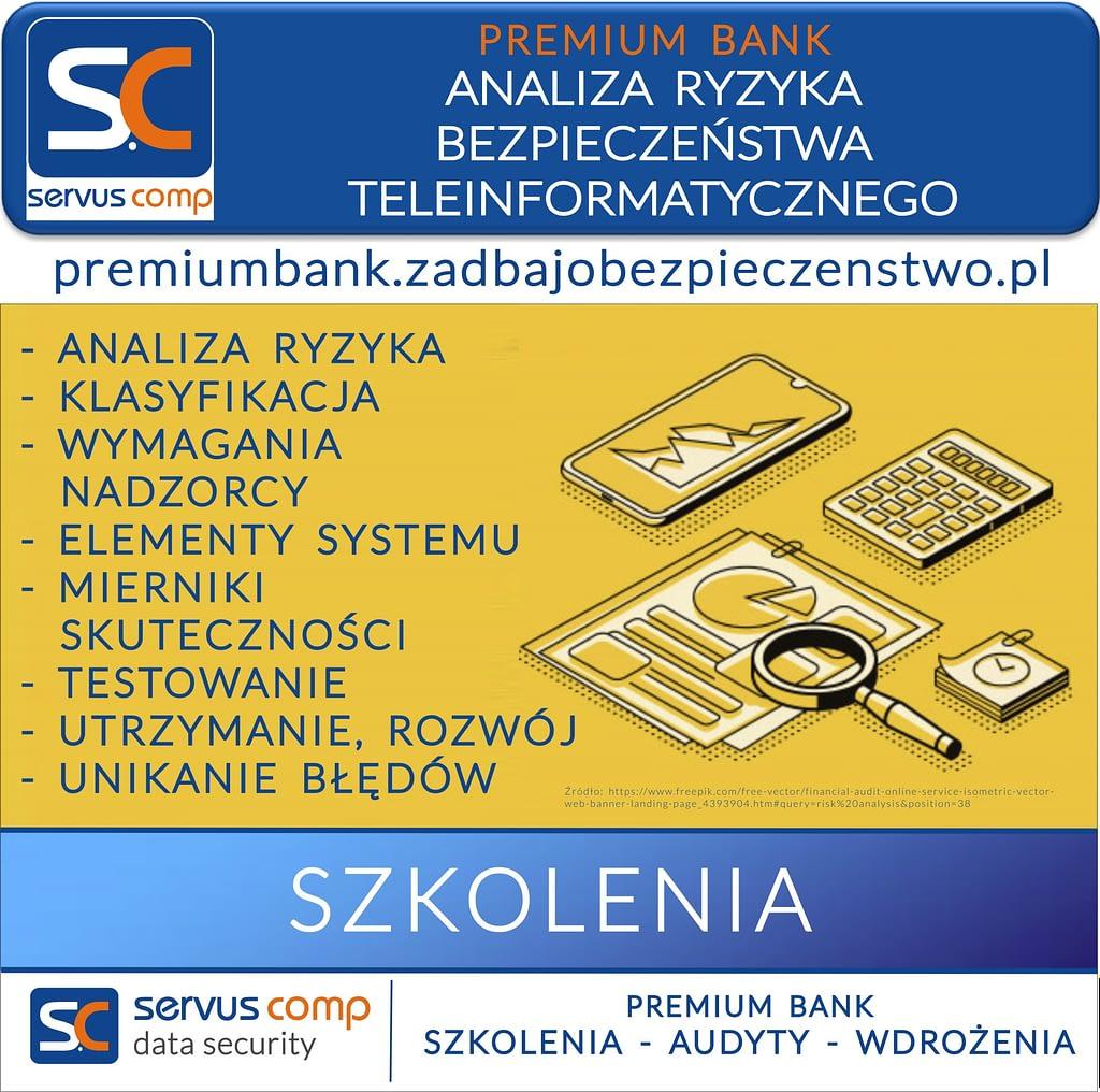 ANALIZA RYZYKA BEZPIECZEŃSTWA TELEINFORMATYCZNEGO W BANKU SPÓŁDZIELCZYM